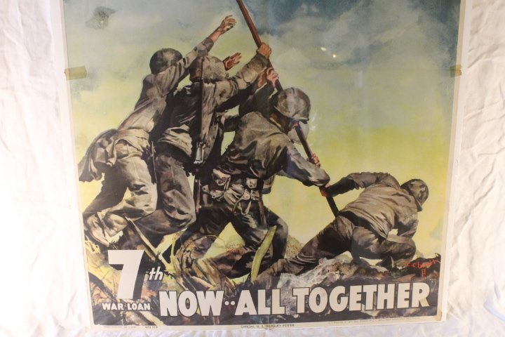 2 Original WWII Posters - 4