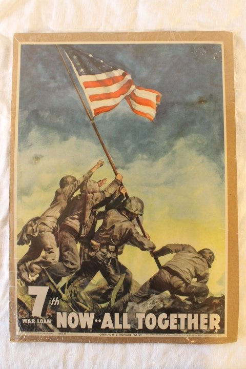 2 Original WWII Posters - 5