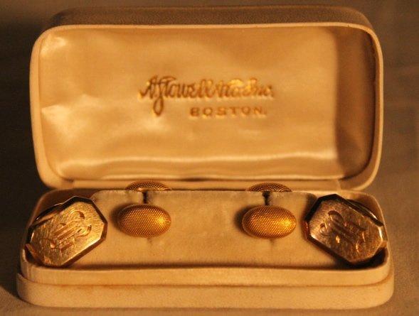 2 Sets of 14kt Gold Cufflinks