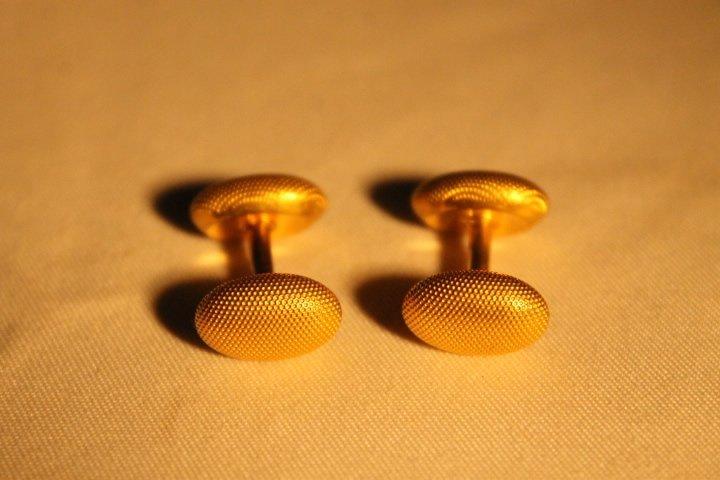 2 Sets of 14kt Gold Cufflinks - 4