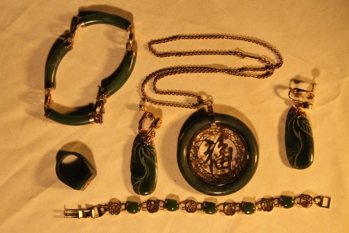 Misc Lot of Asian Jewelry - 4