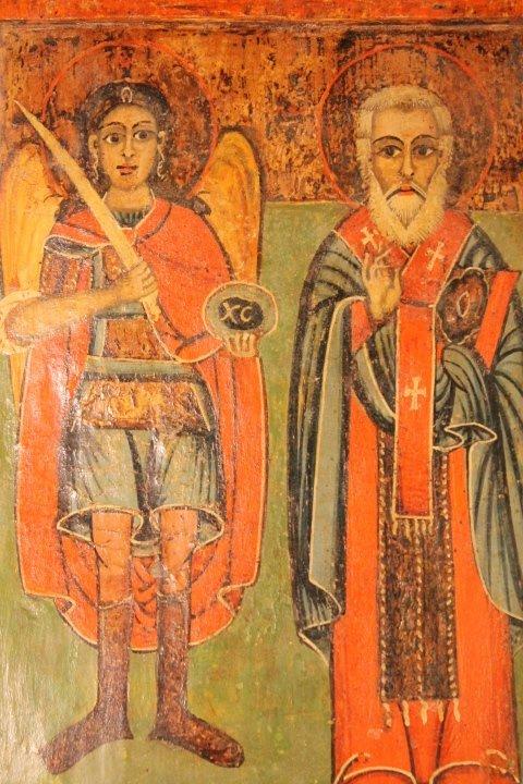 Icon on Wood Panel - 2