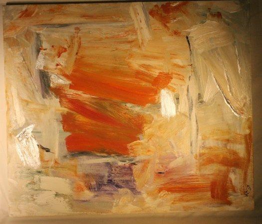 "Trandis Kennedy Acrylic ""New Tide 2"""