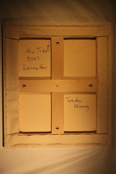 "Trandis Kennedy Acrylic ""New Tide 2"" - 4"