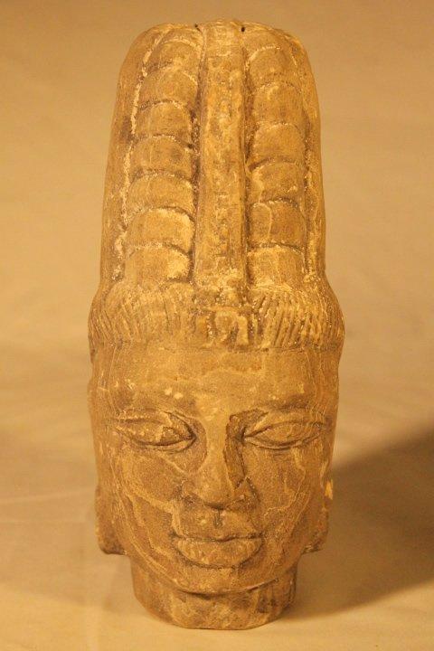 Carved Stone Goddess