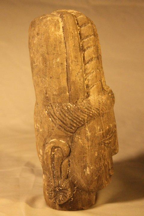Carved Stone Goddess - 4