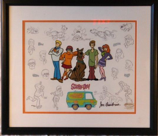 Mystery Gang, Scooby Doo Cel