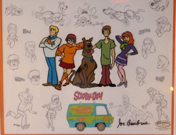 Mystery Gang, Scooby Doo Cel - 2