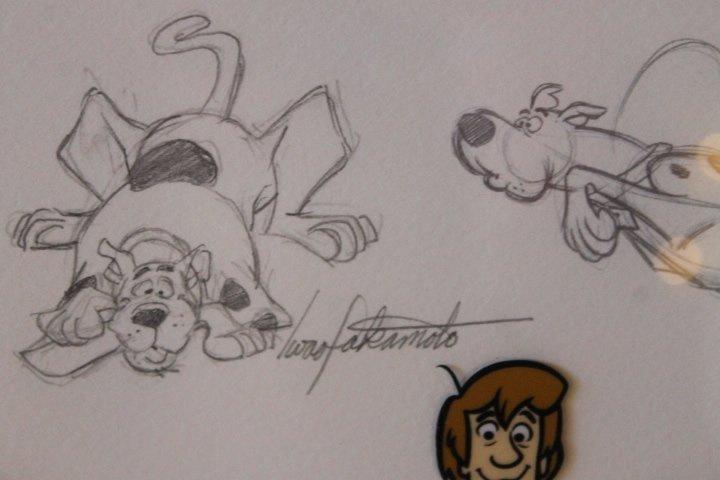 Mystery Gang, Scooby Doo Cel - 6