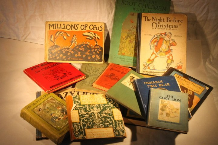 Box lot of Chidrens Books
