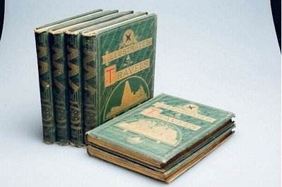 4: Illustrated Travels - 19th century - Superbly illust