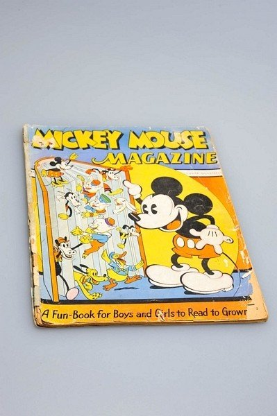 455: Mickey Mouse Magazine 1935