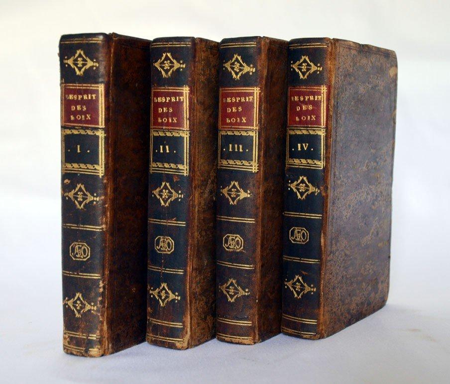 102: The Spirit of Laws. Montesquieu. 1759