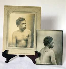 144: King Studio Photographs of Aboriginal men