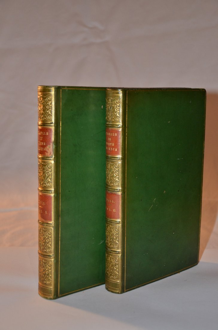 184: Lyell's Travels. First Edition. Complete with Fold