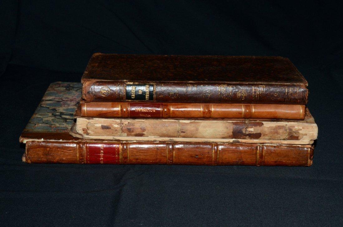 2: 4 x Eighteenth Century Books