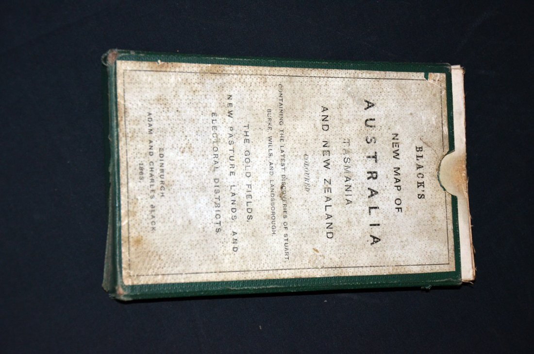 9: Exploration Map 1863 Burke & Wills