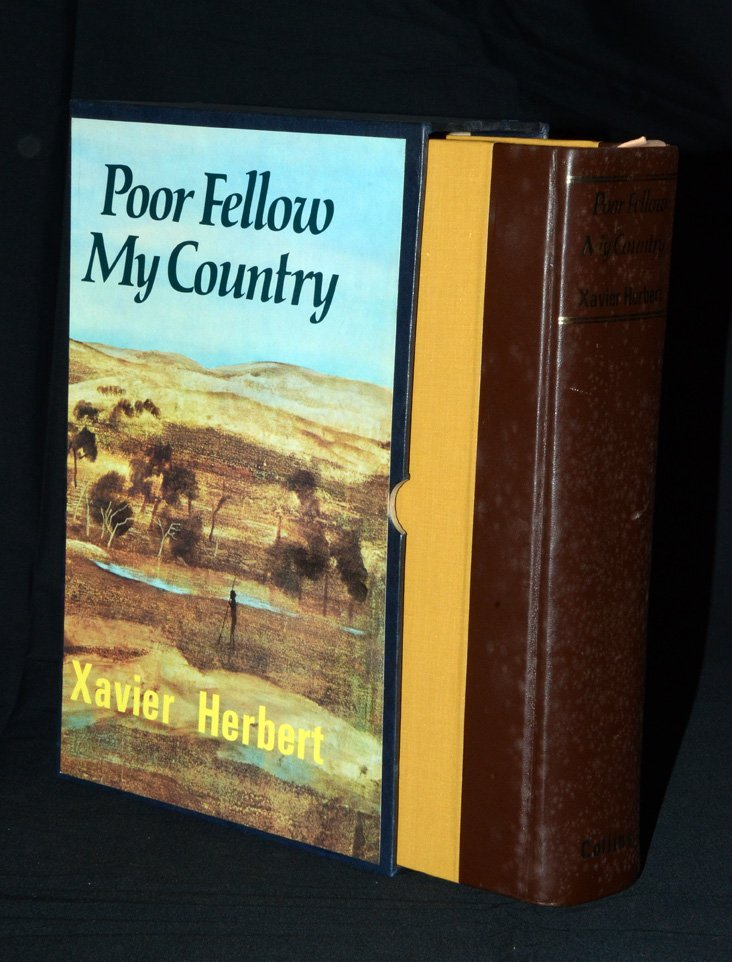 250: Xavier Herbert. Inscribed and SIGNED