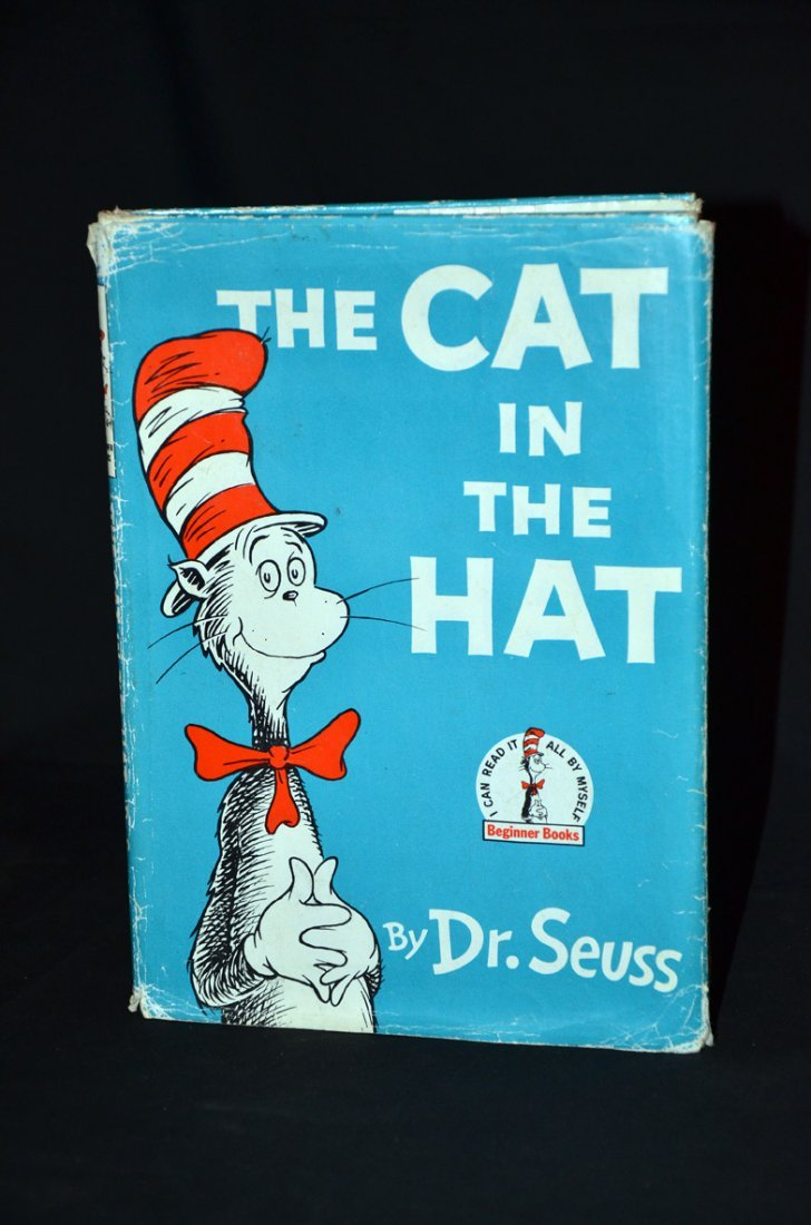 438: Cat in the Hat Signed by Dr Seuss