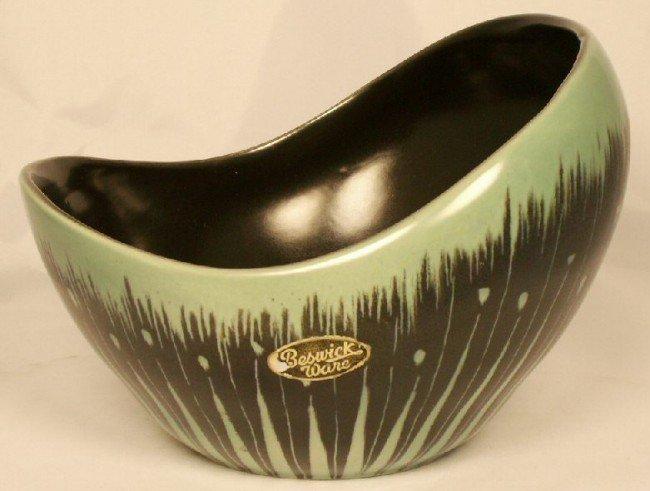 2: Beswick Ware Art Deco Pottery Bowl 1349