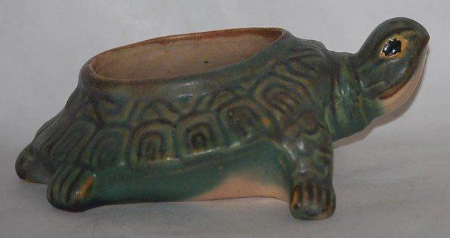 7: McCoy Pottery Turtle Planter