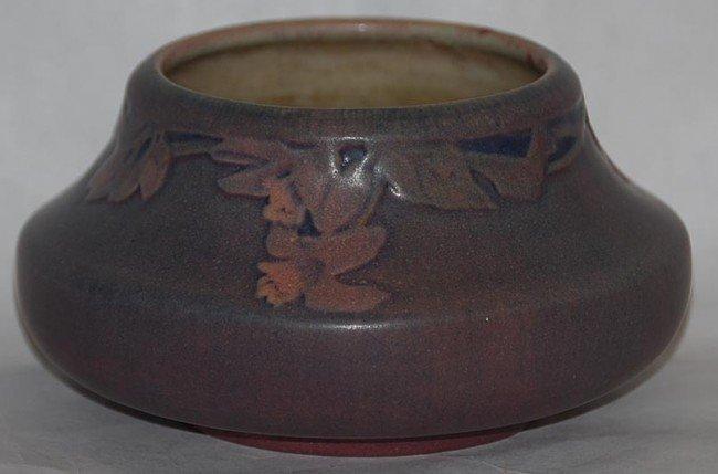 14: Newcomb College Pottery Low Vase (Irvine)