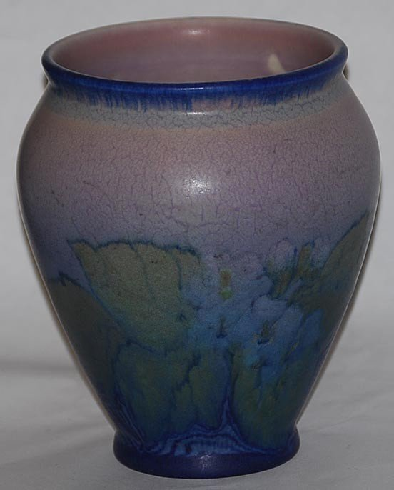 20: Rookwood Pottery 1920 Vase 2190 (Lincoln)