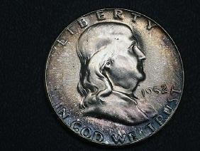 1952 Franklin Silver Half Dollar