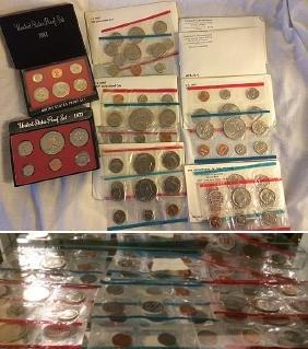 U.S. Mint and Proof Sets