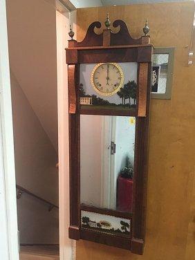 Joseph Ives Looking Glass Clock