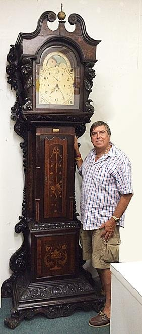 Grandfather Clock Attributed to R. J. Horner