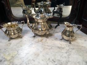 English Silver Tea Set