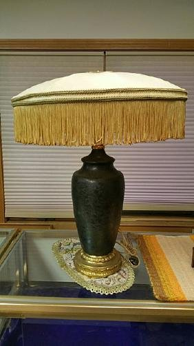 Vintage Table Lamp Attributed to Handel