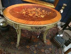 Marquetry Inlay Table