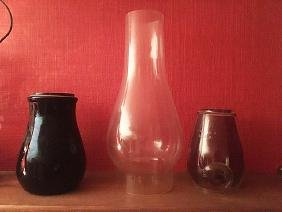 3 Lantern Globes
