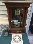 Spencer and Wooster, Salem Bridge CT,  Rare Label Clock