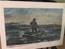 Chet Reneson Signed Lithograph