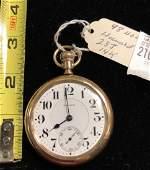Howard 23 Jewels 14kt Gold Pocket Watch
