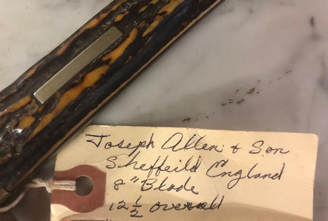 Joseph Allen & Son Knife - 2