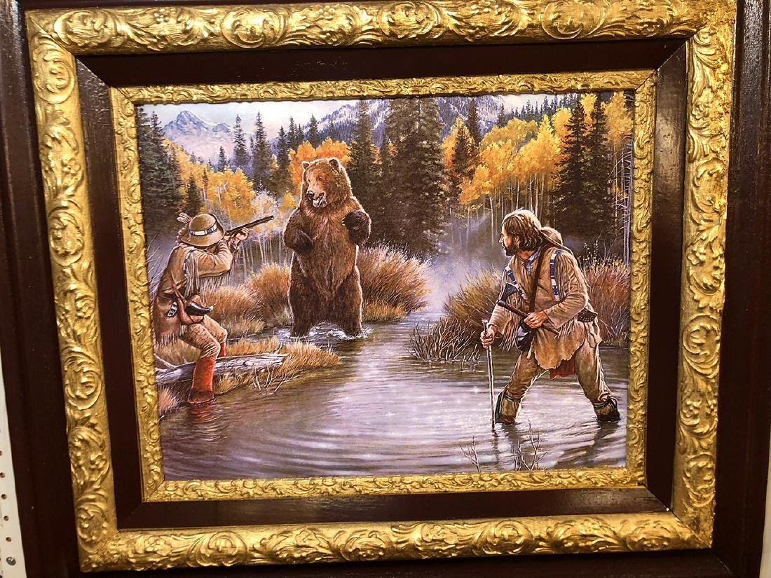 Remington Russell Print on Canvas