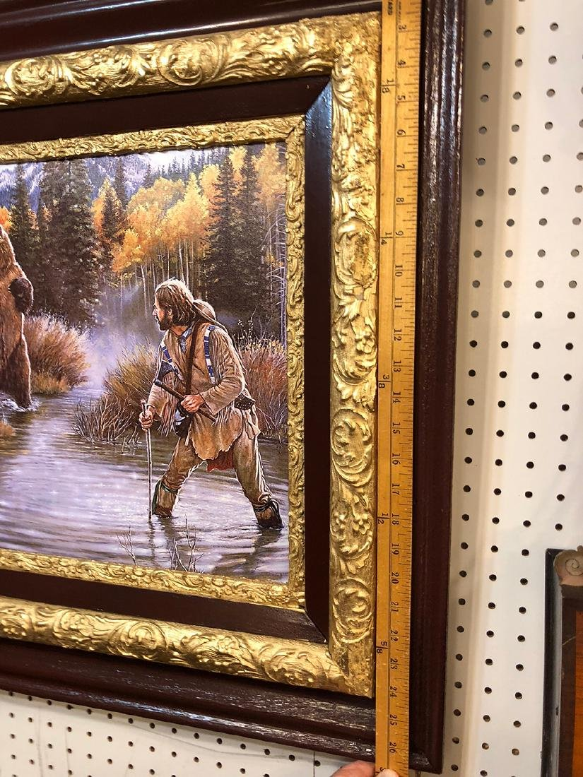 Remington Russell Print on Canvas - 3