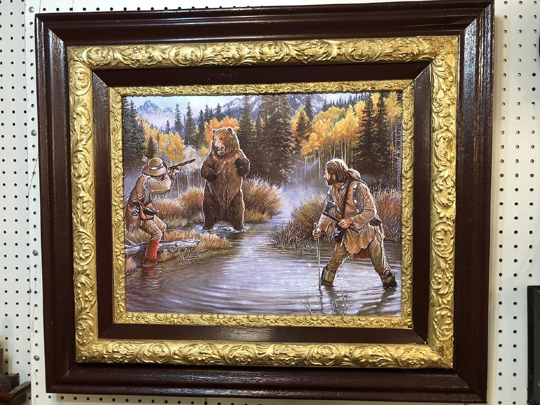 Remington Russell Print on Canvas - 4