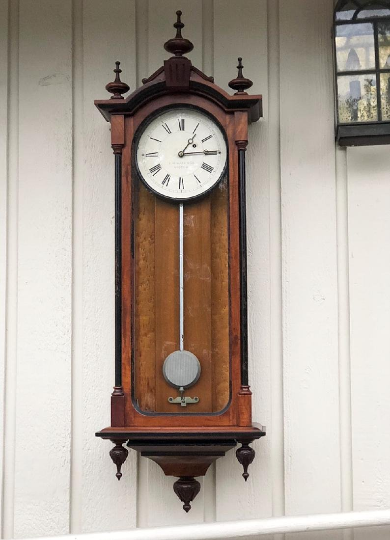 E. Howard and Co. #59 Vienna Regulator Clock