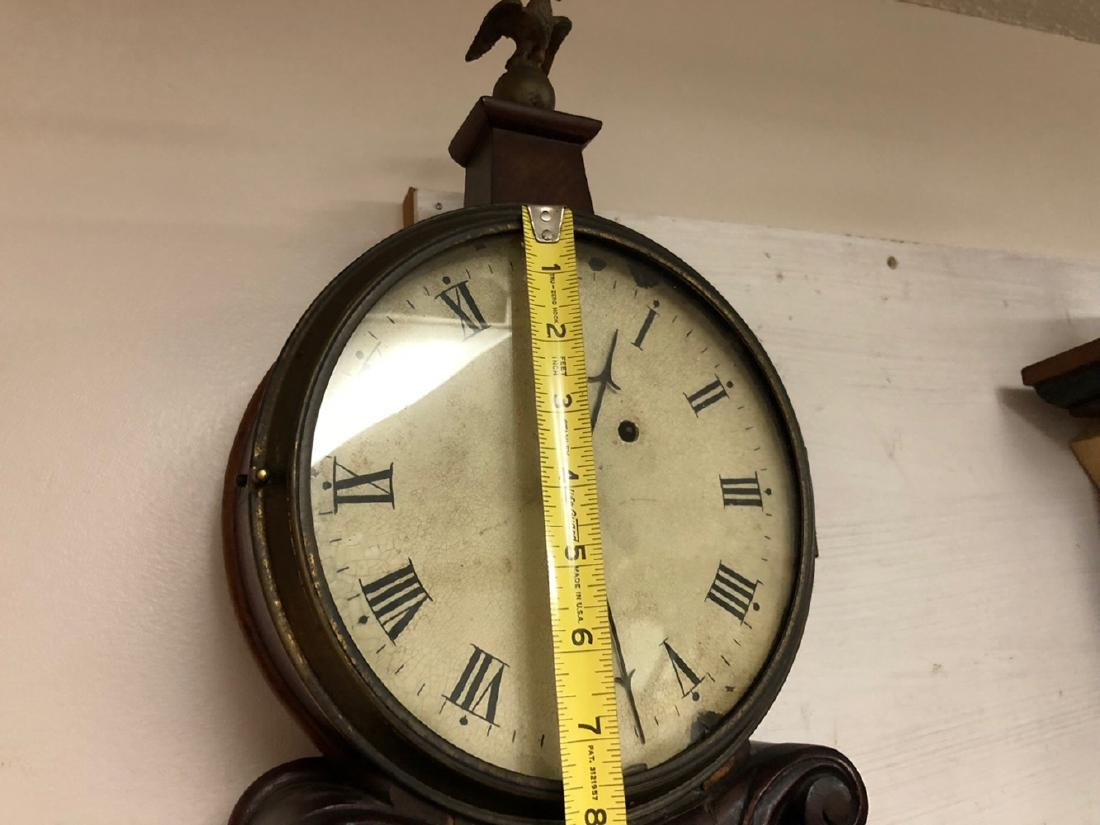 Lyre Weight Driven Banjo Clock - 8