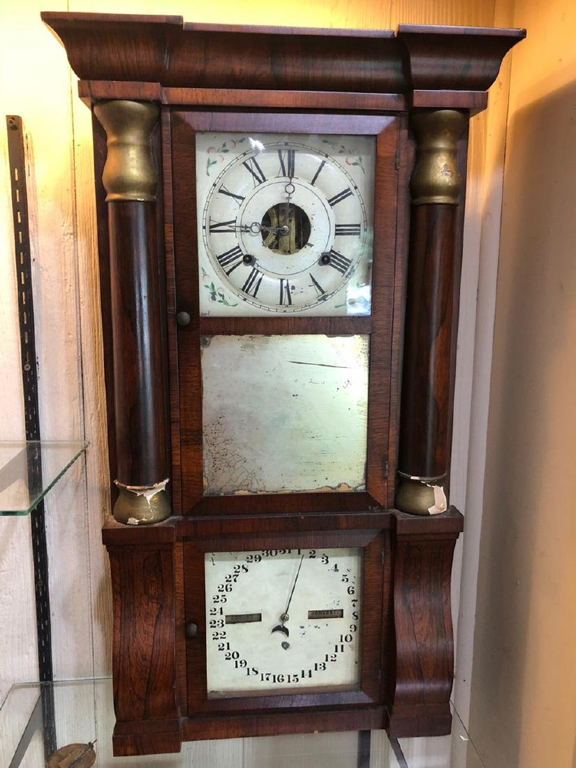 Seth Thomas Double Dial Calender Clock