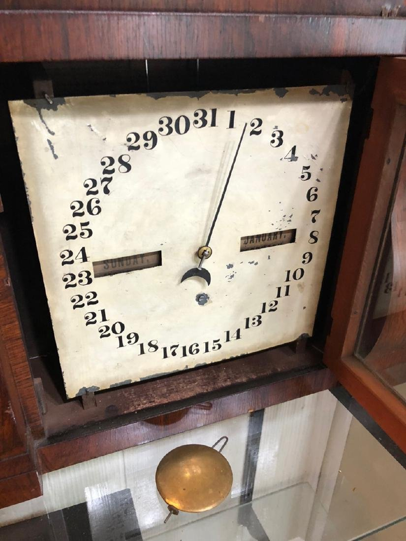 Seth Thomas Double Dial Calender Clock - 4