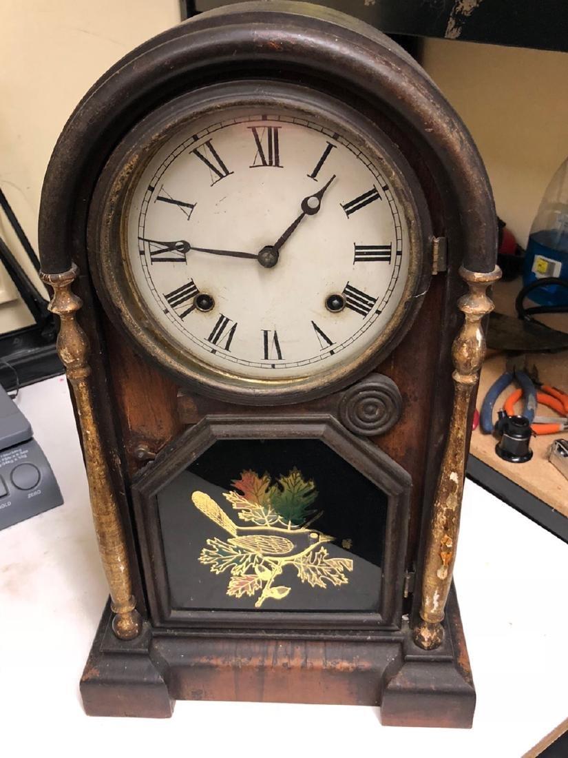 Rosewood Venetian Shelf Clock