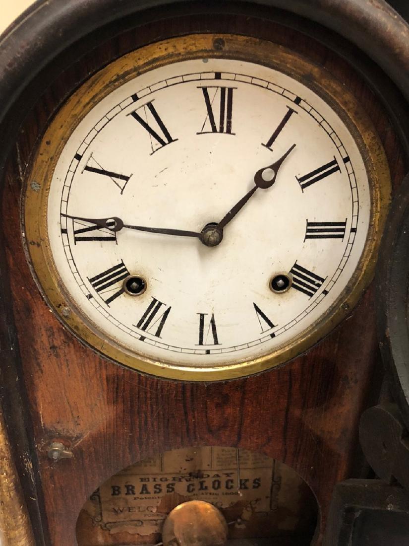 Rosewood Venetian Shelf Clock - 3