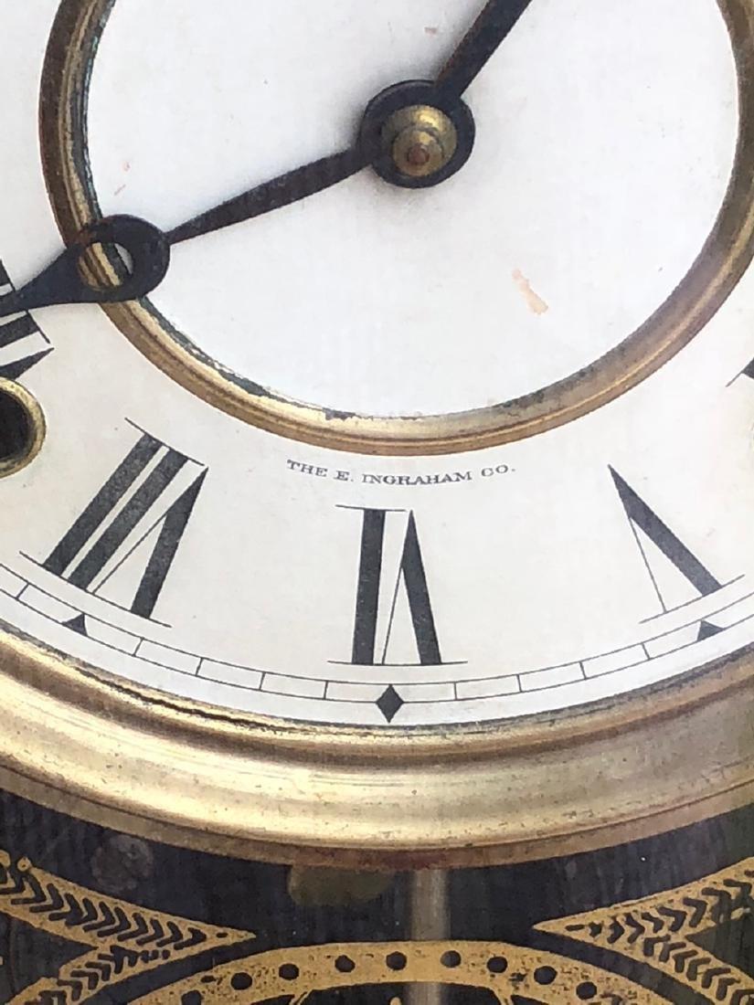 E. Ingraham Co. Gingerbread Clock - 2