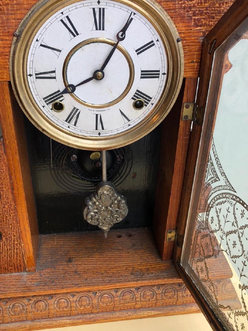 E. Ingraham Co. Gingerbread Clock - 3
